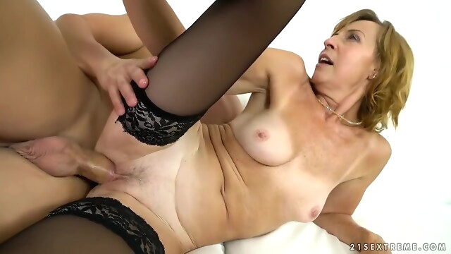 Tube Sex  - Granny Lotty Blue Rides Buff Dudes Cock fetish