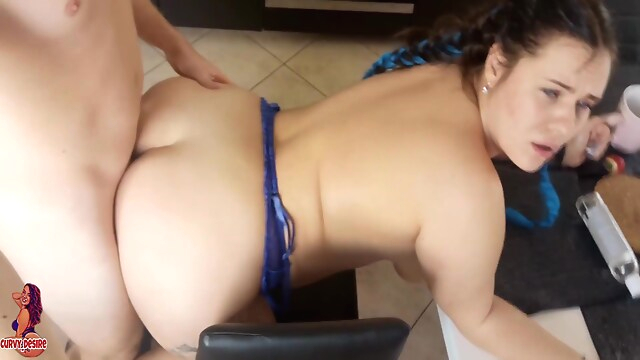 Tube Sex  - Anal Breakfast For Curvy Teen Anjaamelia bbw