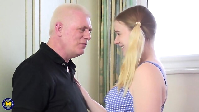 Tube Sex  - Dirty Oldman Fucks Young Babe hd