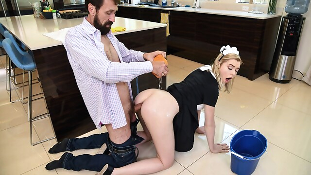 Tube Sex  - A Very Anal Maid Free Video With Steve Holmes & Anny Aurora - Brazzers big ass