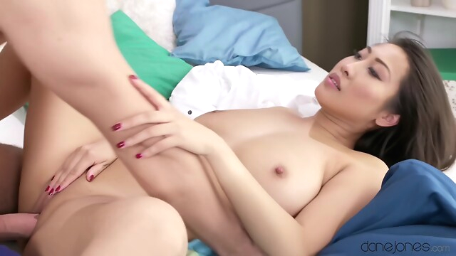 Tube Sex  - E461 Fat Cock Stretches Huge Tits Asian big tits