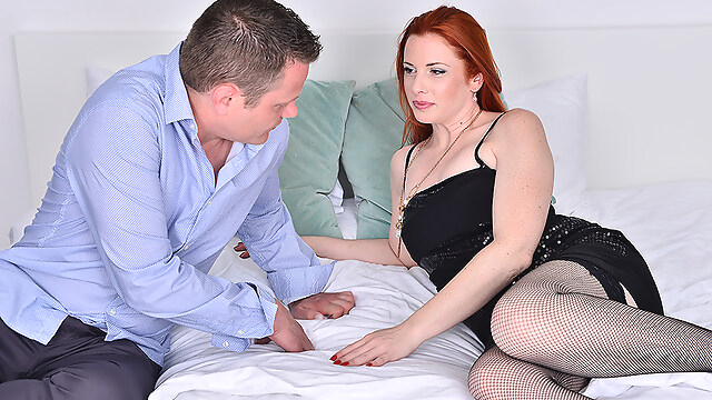 Tube Sex  - Hot Mom Michelle Russo Fucking And Sucking Her Lover - MatureNL european