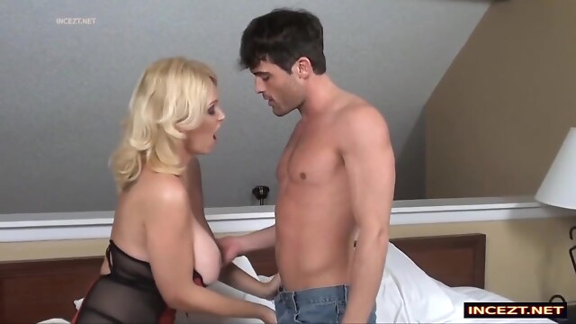 Tube Sex  - My Busty Hot Step-mom blonde