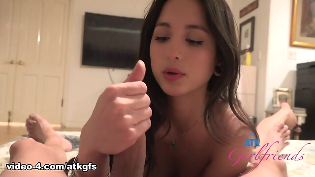 Tube Sex  - Mi Ha Doan in Virtual Date Movie - ATKGirlfriends blowjob
