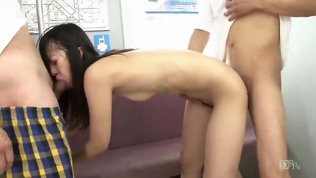 Tube Sex  - Japanese uncensored creampie