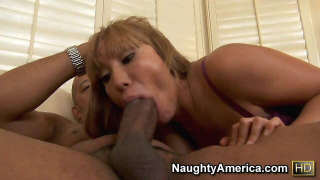 Tube Sex  - MILF WITH BIG TITS AND ASS and BIG DICK interracial