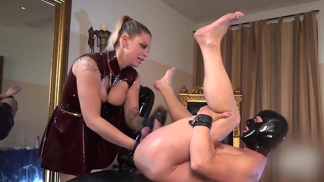 Tube Sex  - Fisted by beautiful German mistress blonde