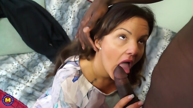 Tube Sex  - Black Bull And Busty Couger big tits